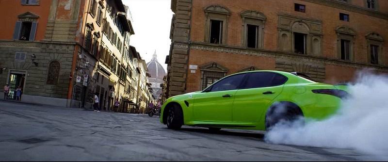 Alfa Roméo vert